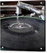Columbia Record Acrylic Print
