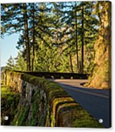 Columbia River Gorge Highway Acrylic Print