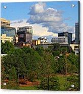 Columbia Skyline -- 03 25 2012 C Acrylic Print