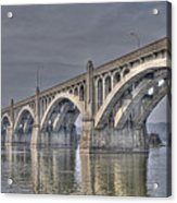 Columbia-wrightsville Bridge Acrylic Print