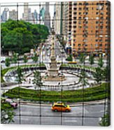 Columbus Circle Acrylic Print