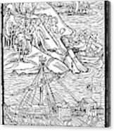 Columbus Hispaniola, 1492 Acrylic Print