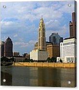 Columbus Skyline Acrylic Print