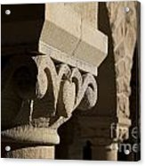 Column Detail Stanford California Acrylic Print