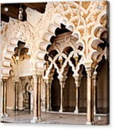 Columns And Arches No1 Acrylic Print