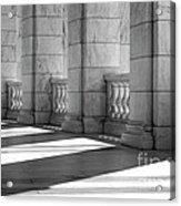 Columns And Shadows Acrylic Print