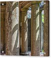 Columns At Cranes Acrylic Print