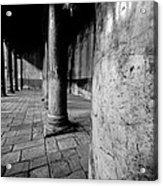 Columns At The Church Of Nativity Acrylic Print
