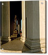 Columns Of A Memorial, Jefferson Acrylic Print