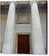 Columns Of Second Bank In Philadelphia Acrylic Print