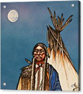 Comanche Moon Acrylic Print