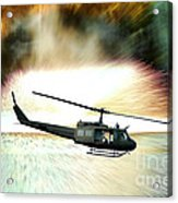 Combat Helicopter Acrylic Print