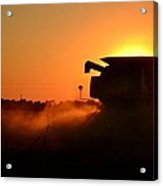 Combine At Sunset Acrylic Print