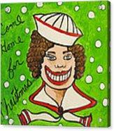 Come Home For Christmas Tillie Acrylic Print
