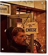 Come In For Cheese Acrylic Print
