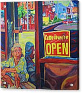Come In We're Open Acrylic Print