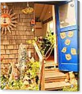 Come On In To A Mendocino Art Studio Acrylic Print