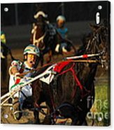 Horse Racing Come On Number 6 Acrylic Print