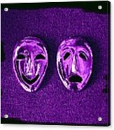 Comedy And Tragedy Masks 2 Acrylic Print