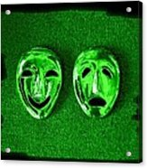Comedy And Tragedy Masks 3 Acrylic Print