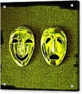 Comedy And Tragedy Masks 6 Acrylic Print