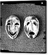 Comedy And Tragedy Masks 7 Acrylic Print