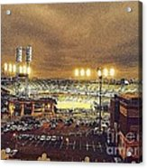Comerica Night Game 2 Acrylic Print