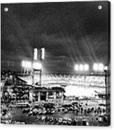 Comerica Park At Night Acrylic Print