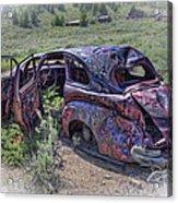 Comet Mine Jalopy - Montana Acrylic Print