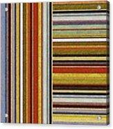 Comfortable Stripes Lx Acrylic Print