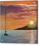 Coming Home English Bay Acrylic Print