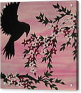 Coming Home To Roost Acrylic Print by Cathy Jacobs