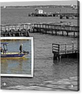 Coming In To Dock Acrylic Print