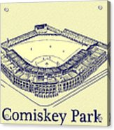 Comiskey Park 1910 Acrylic Print