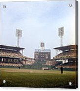 Comiskey Park Photo From The Outfield Acrylic Print