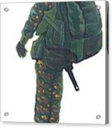 Commando 02 Acrylic Print