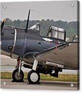 Commemorative Air Force - Douglas Sbd Dauntless Acrylic Print