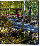 Commerce Twp. Mill Race Park Acrylic Print
