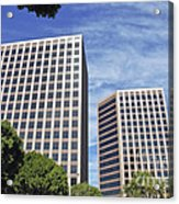 Commercial Office Building Acrylic Print