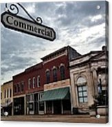 Commercial St Acrylic Print