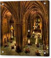 Commons Room Cathedral Of Learning University Of Pittsburgh Acrylic Print