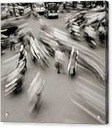 Urban Swirl Acrylic Print