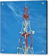 Communications Mast Hua Hin Acrylic Print