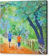 Community On The Run Acrylic Print