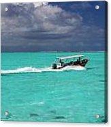 Commute Of Bora Bora  Acrylic Print