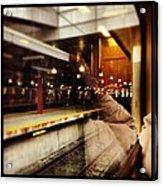 Commuter Life Acrylic Print