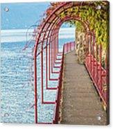Como District Lake, Varenna Acrylic Print