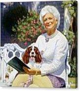 Companions In The Garden Acrylic Print