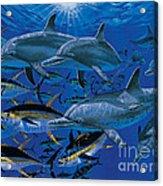 Companions Off00117 Acrylic Print