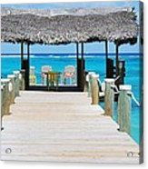 Tranquility At Compass Point, Nassau, Bahamas Acrylic Print